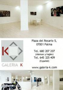 Galería K, Plaza del Rosario, Palma de Mallorca