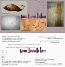Amador Vallina: Abril - Lluvia de Arte, Galería L'Único, Palma de Mallorca