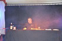 Kriminalinski (Andreas Kaminski) liest bei der 1. Cloppenburger Kriminacht 2012