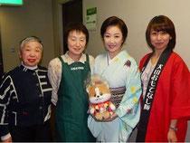 五代夏子さんと記念写真!