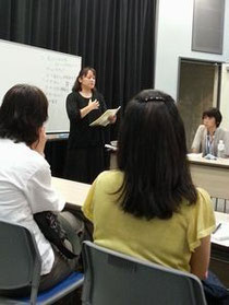 摂食嚥下障害の娘を育て苦労を話す迫田理恵子さん