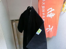 剣道道衣・面したの干す場所