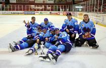 So sehen Sieger aus: Die Eishärnla nach dem Sieg im Vorjahr