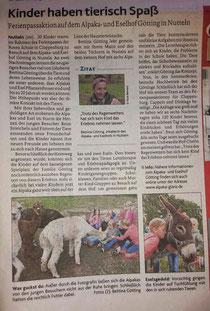 Aus der MT (Münsterländische Tageszeitung) vom 18.7.2019