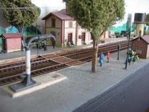 HO - la gare de Charme-les-Bains