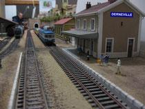 HO - la gare de Derneville