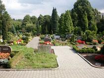 Der gemeindeeigene Friedhof