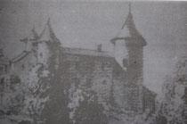 facade nord (dessin de Stéphanie de Virieu)
