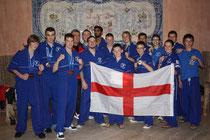 Winning BCKA team