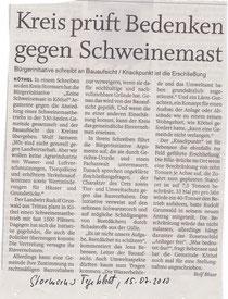 Stormarner Tageblatt 15.07.10