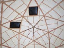 天井に「いちなるもの」と5方向に書いてます。