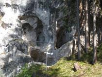 Wildfräuleinstein bei Hinterstein