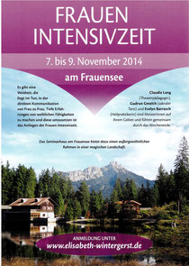 Frauen-Intensivzeit