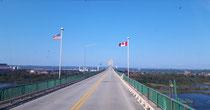 Grenzübergang Saint Sault Marie