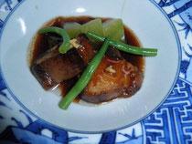豚の角煮と冬瓜