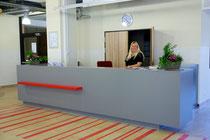 Das offen zugängliche JPRS-Front Office im Eingangsbereich unserer Schule