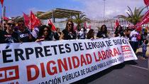 Manifestación de los ILSES