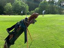 Hickory Golf Vintage Golf Enjoy the walk HickoryGolf Golfspiel Genuss  Swiss Hickory Golf Club