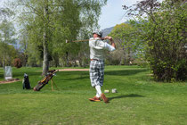 Hickory Golf für Geniesser - Enjoy the walk im  Swiss Hickory Golf Club