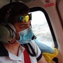 Enfermera tripulante HEMS (Helicopteros medicalizados)