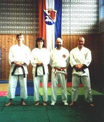 Michael, Claudia, Werner Patzelt und Hellmut