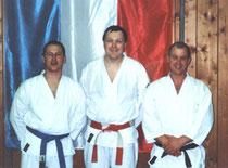 v.l.n.r. Hans-Jörg, Heinz Pritzl und Hellmut