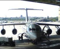 BAe 146 am Flugsteig