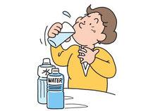 口臭予防に水分補給