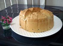 おまん小豆シフォンホールケーキ