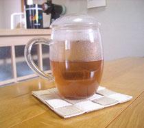 可愛い☆マグカップのおまん小豆茶