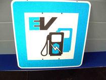E Tankstellen Zeichen