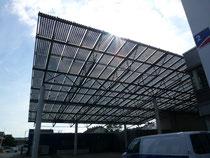 Solar Glas Dach