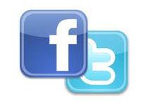 Facebook + Twitter