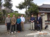 ソーラーシェアリングの考案者長島彬さんとの記念写真