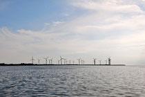 ロラン島北西部にある ノイソムヘドス・オデ。現在は風力発電パーク ©aTree