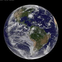 地球の未来は変えられるか!?ハリケーンIreneを撮影した写真(by NASA)