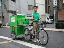 エコ配の配送用自転車