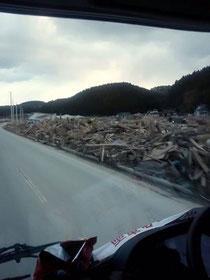 海から約5km地点でもこの被害状況