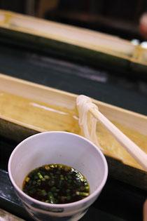 高千穂峡流し素麺
