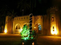 Cena folclórica en el oasis de Tozeur