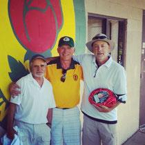 Ted Krigel, Dave Austen, and Ted Merritt