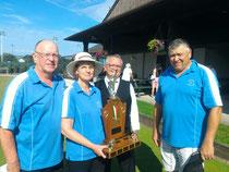 Brian Doidge, Judy Doidge, Hector Audette (sponsor), and Joe Wardell