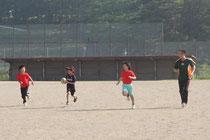 ラグビー練習
