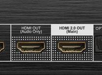 HDMI Audio Only Ausgang, speziell Jitter-reduziert mit audiophiler Clock