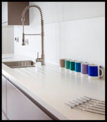 Brighton and Hove Kitchens supply Corian