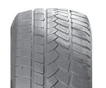 Neumático con desgastes diagnonales