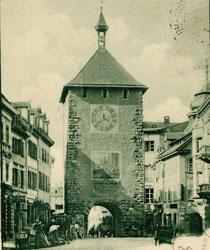 Das Martinstor vor seinem Umbau im Jahr 1901