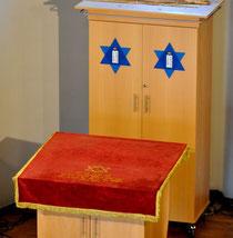 Heutiger Toraschrein der Hechinger Synagoge - Foto: Manuel Werner, alle Rechte vorbehalten!