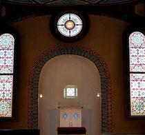 Misrachwand der Hechinger Synagoge, Foto: Manuel Werner