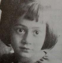 Tochter Ruth um 1925 (Ausschnitt), aus d. Privatsammlung von Otto Werner, mit freundl. Gen. aus: O.Werner: Synagogen und jüdischer Friedhof in Hechingen, Hechingen 1996, Seite: 179